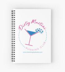 Dirty Martini Running Club Spiral Notebook