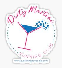 Dirty Martini Running Club Glossy Sticker