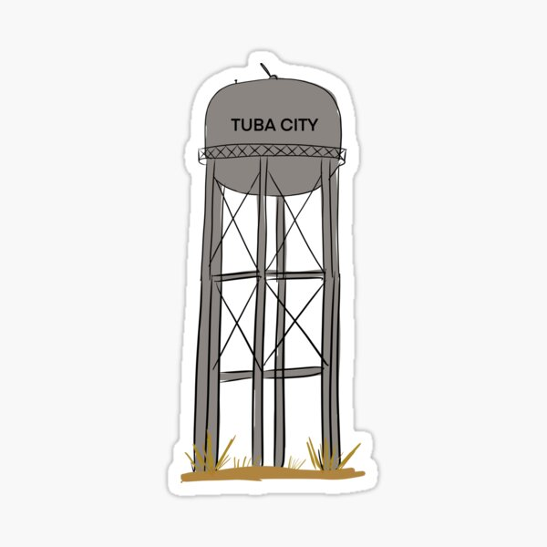 Tuba city  Sticker