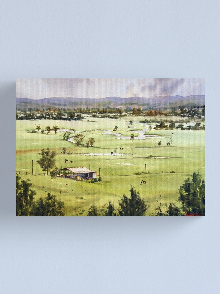 Alternate view of From Streeton Lookout, Freemans Reach Canvas Print