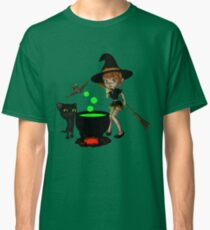 Cauldron Witch Shirts & Stickers Classic T-Shirt