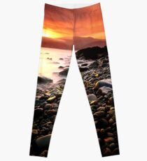 Sun kissed rocks Leggings