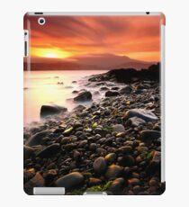 Sun kissed rocks iPad Case/Skin