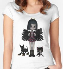 Decadent Discordia Shirts & Stickers Women's Fitted Scoop T-Shirt