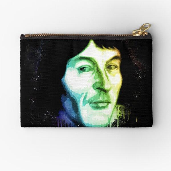 Nicolaus Copernicus Leather Coin Purse