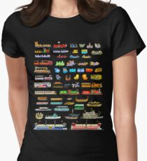 WDW RVs Women's Fitted T-Shirt