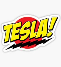 Tesla! Sticker Sticker