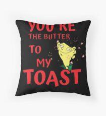 Butter to my Toast Shirt Floor Pillow