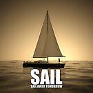 Summer sail ⛵️ Sail away tomorrow by Andy Renard