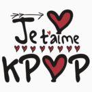 Je T'aime KPOP by cheeckymonkey