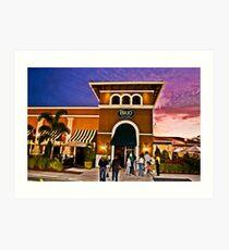 Plaza Art Print