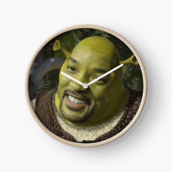 Will Smith X Shrek Clock