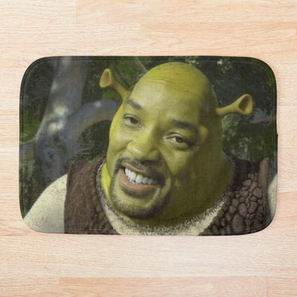 Will Smith X Shrek Bath Mat