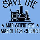Comet Crab. SAVE THE MAD SCIENTISTS March for Science by SavvyTurtle
