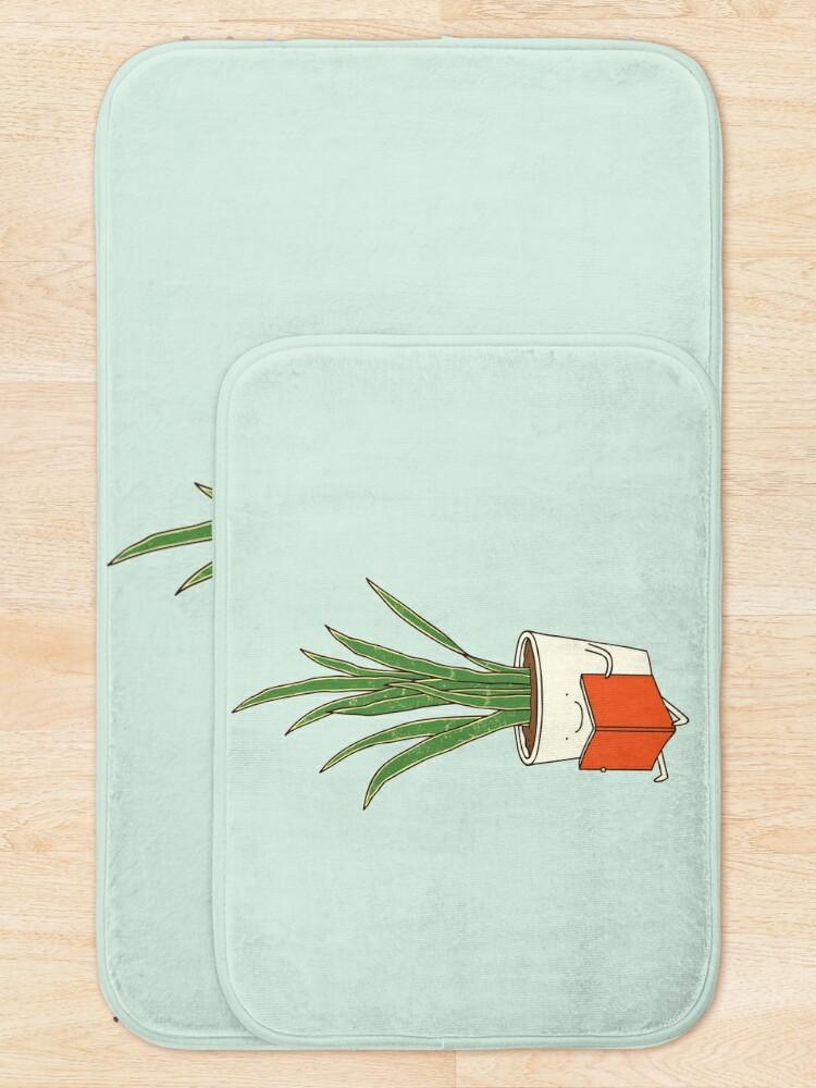 Alternate view of Indoor plant Bath Mat