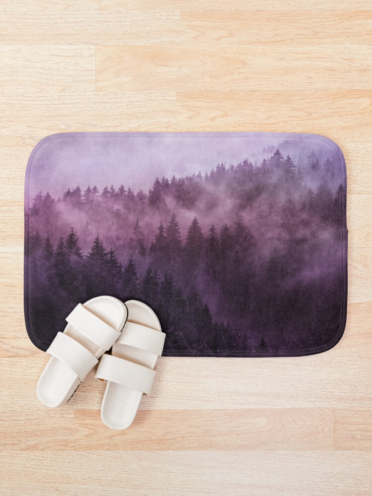 Alternate view of Excuse Me, I'm Lost // Laid Back Edit Bath Mat