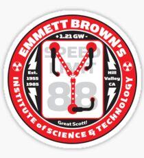 Emmett Brown's Institute of Science & Technology Sticker