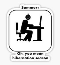Summer For Gamers Sticker