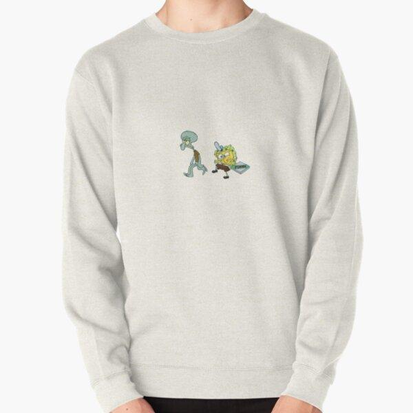 FUNNY SPONGEBOB Pullover Sweatshirt