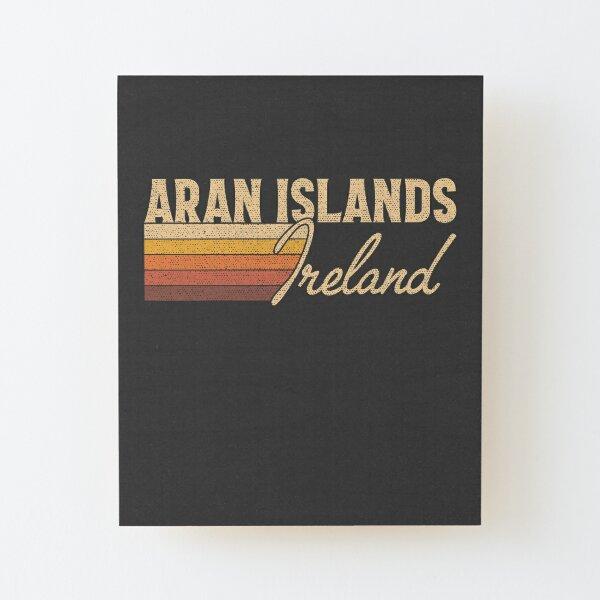 Aran Islands Ireland Wood Mounted Print