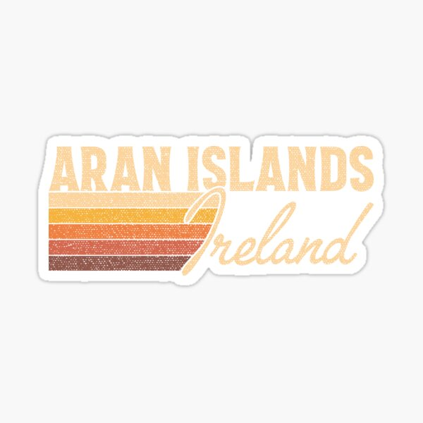 Aran Islands Ireland Sticker