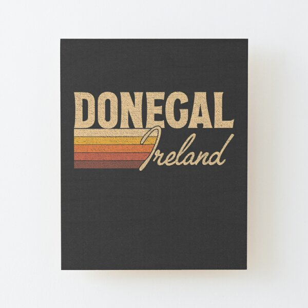 Donegal Ireland Wood Mounted Print