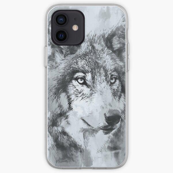Wild Wolf iPhone Soft Case