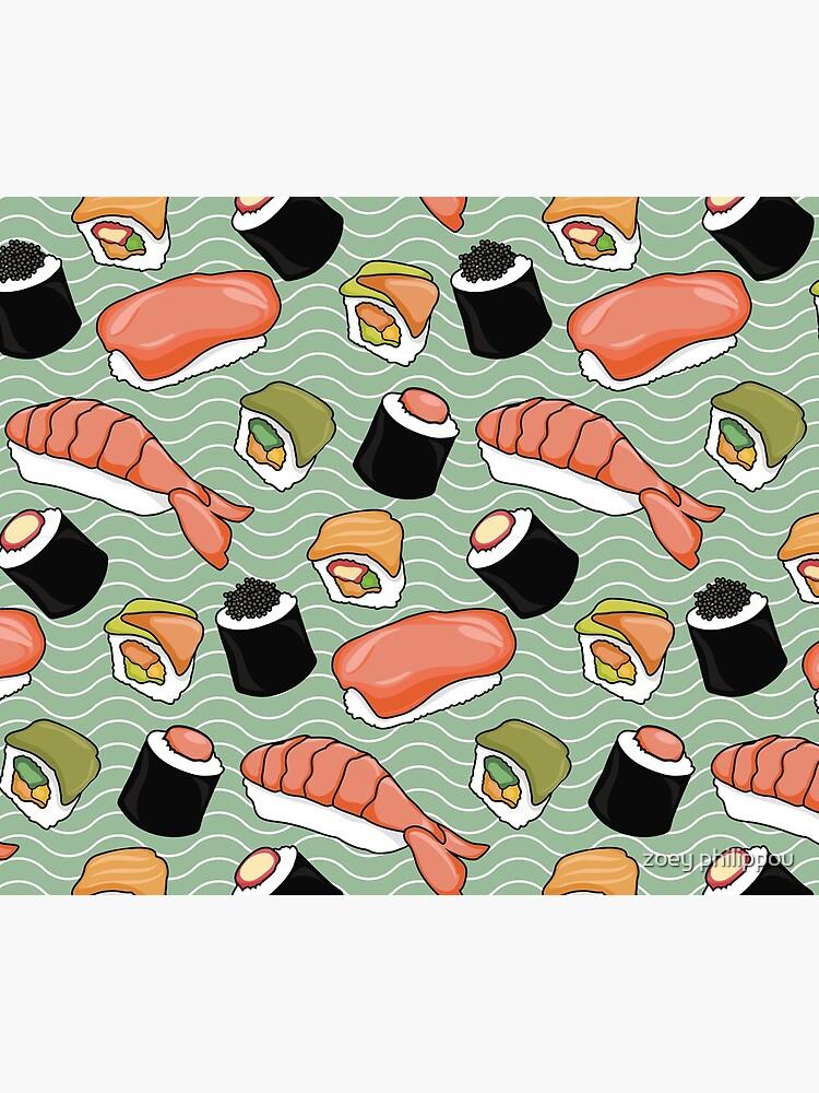 Sushi Lovers by cherryandmint
