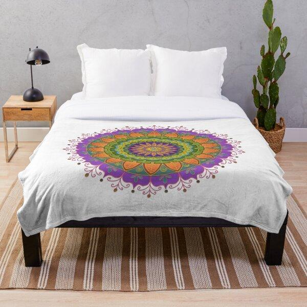 Floral Mandala - More of that Jazz Throw Blanket