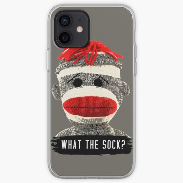 What The Sock? Sock Monkey iPhone Soft Case