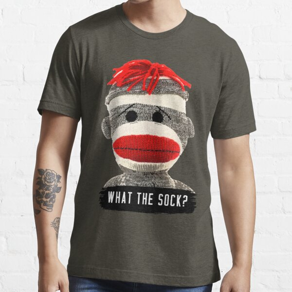 What The Sock? Sock Monkey Essential T-Shirt