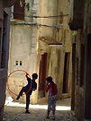 Rovinj Street Play by Blake Steele