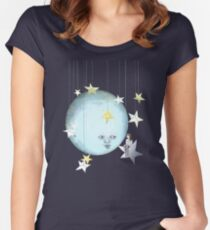 Hanging with the Stars Women's Fitted Scoop T-Shirt