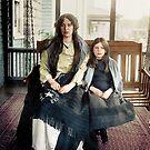 Charlotte and Marjorie Collyer, Titanic Survivors, June 1912, restored and colorized von Mario  Unger