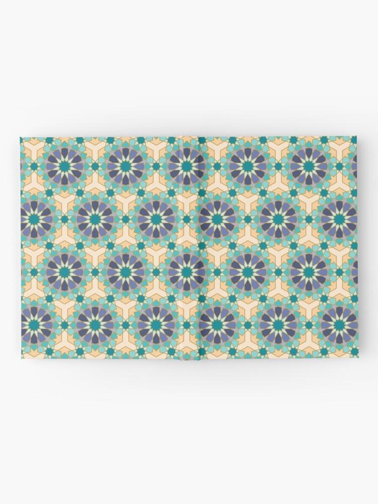 Alternate view of Geometric Pattern: Arabic Tiles: Dream Hardcover Journal