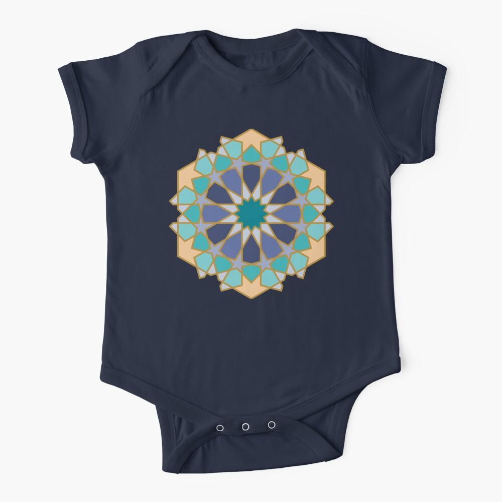 Geometric Pattern: Arabic Tiles: Dream Baby One-Piece