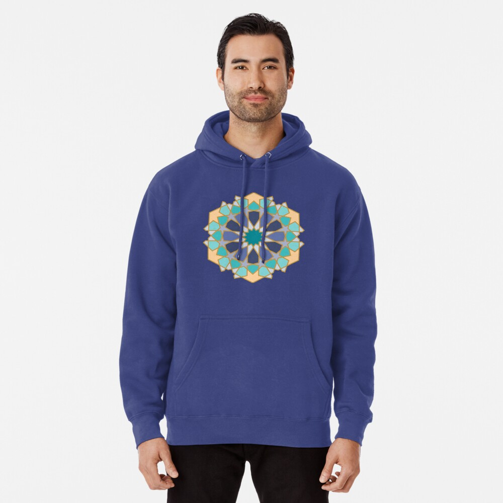 Geometric Pattern: Arabic Tiles: Dream Pullover Hoodie