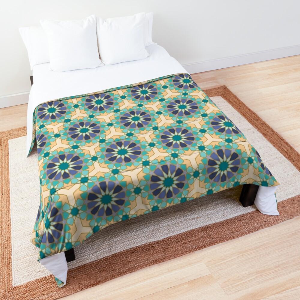 Geometric Pattern: Arabic Tiles: Dream Comforter