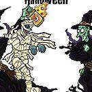 JokerWrap - Halloween Witch Monster Mash! by Jokertoons
