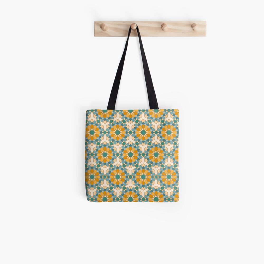 Geometric Pattern: Arabic Tiles: Lily Tote Bag