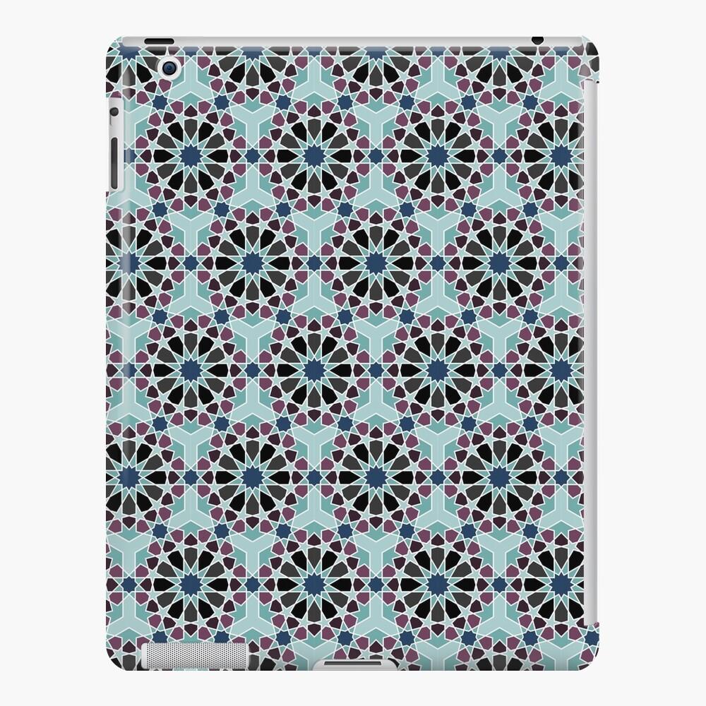 Geometric Pattern: Arabic Tiles: Midnight iPad Case & Skin