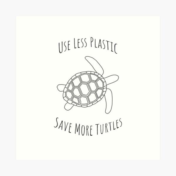 Save the Turtles - Small Art Print