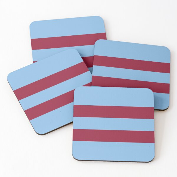 West Ham Retro 1966 Away  Coasters (Set of 4)