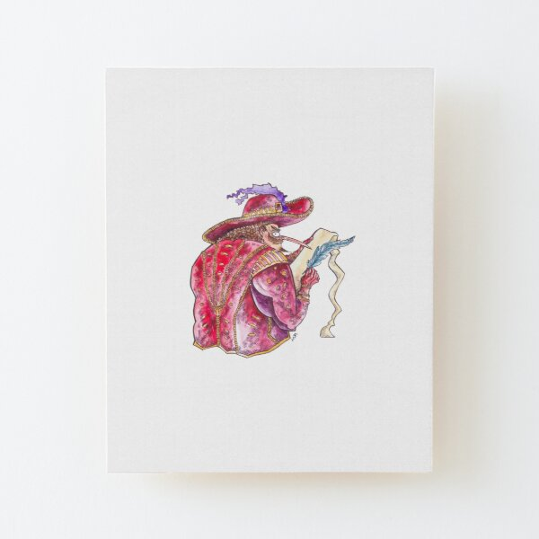 Find your Inner Cyrano! Wood Mounted Print