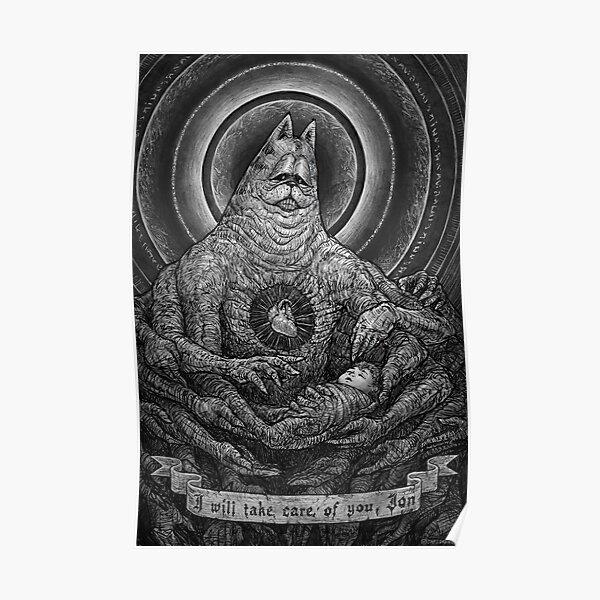 Divine Gorefield, The Caretaker Poster