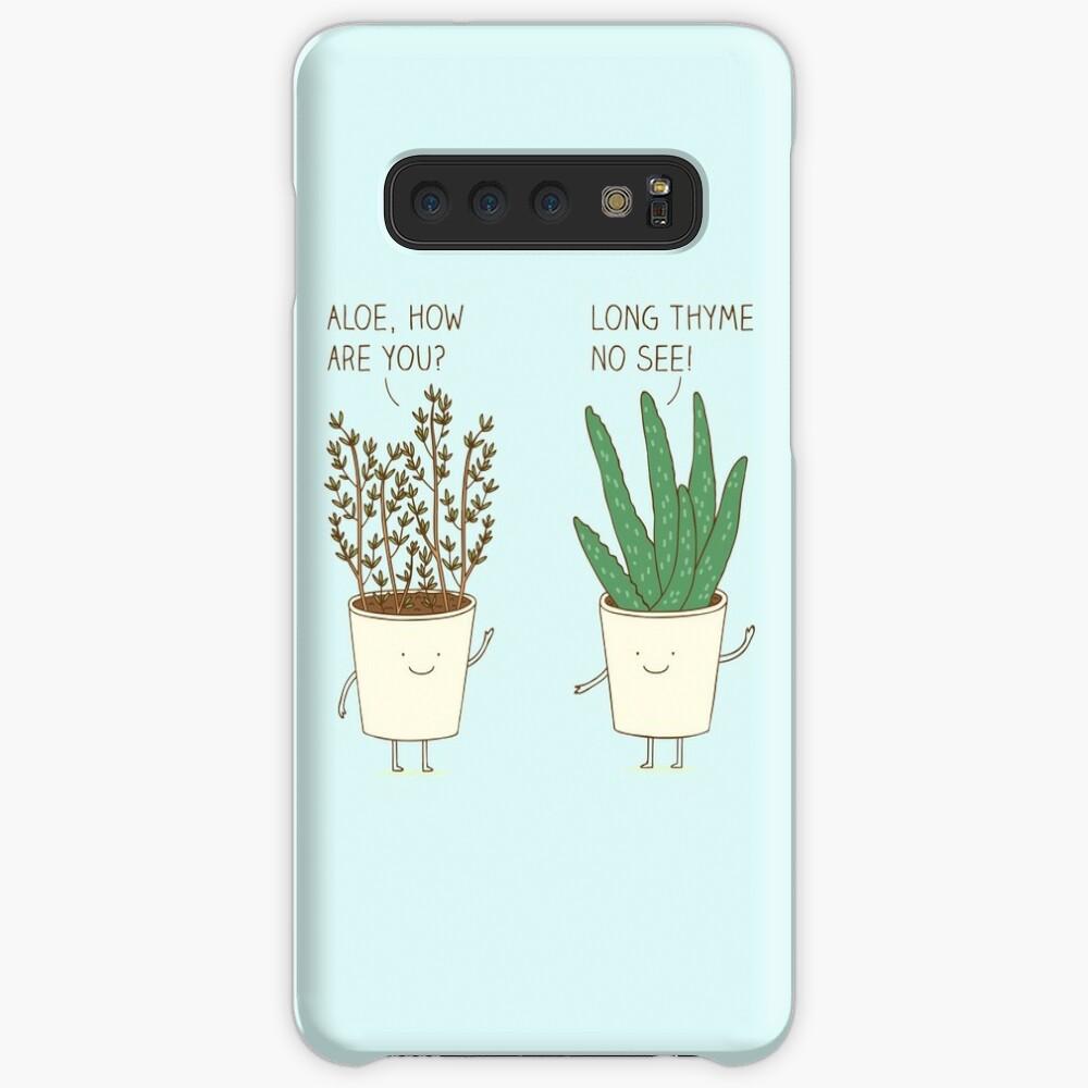 Garten-Etikette Hülle & Klebefolie für Samsung Galaxy