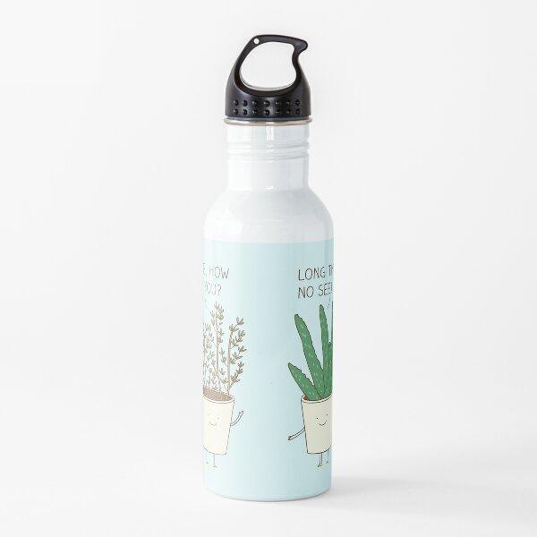 Gartenetikette Trinkflasche