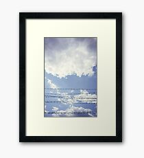 Barbed Sky Framed Print
