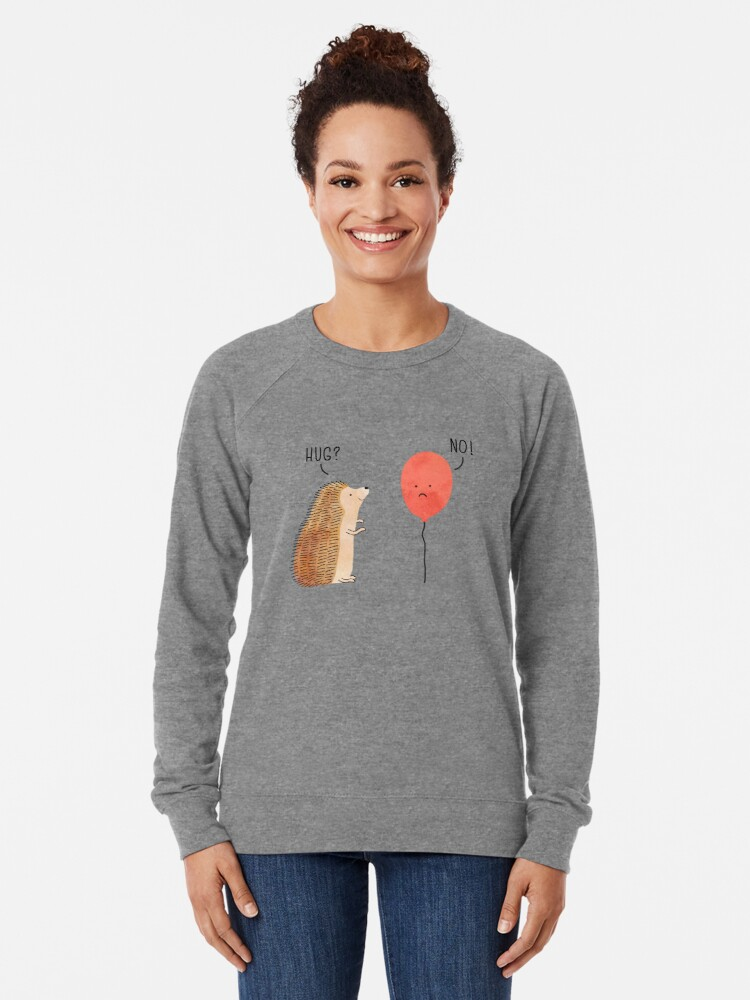 Alternate view of impossible love Lightweight Sweatshirt