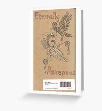 Back Cover - sketchbook Greeting Card